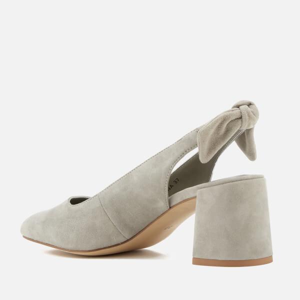SENSO Women's Iliana II Suede Sling Back Block Heels - Dove - UK 3 BaurEavr5T
