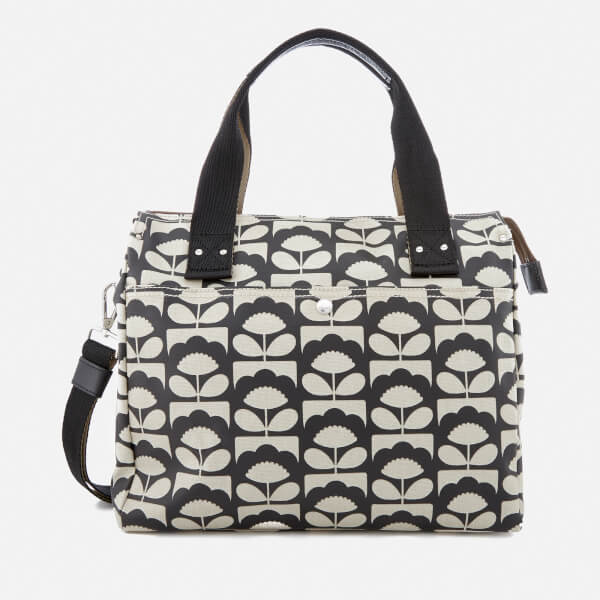 c5735e3a5cc Orla Kiely Women s Zip Messenger Bag - Charcoal Clothing   TheHut ...