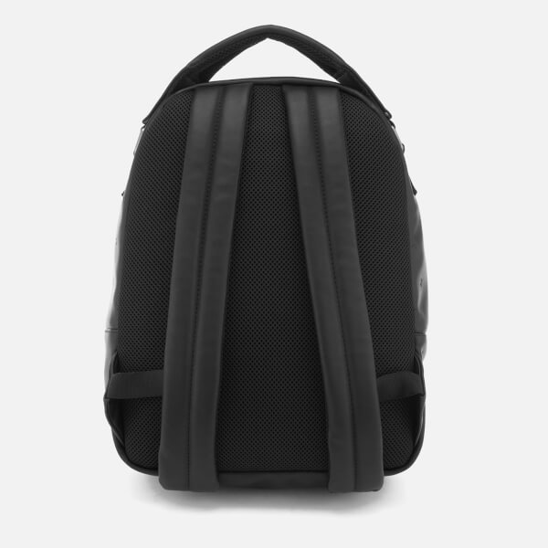 Armani Men's All Over Pattern Backpack - Nero Sale Really S8H049U