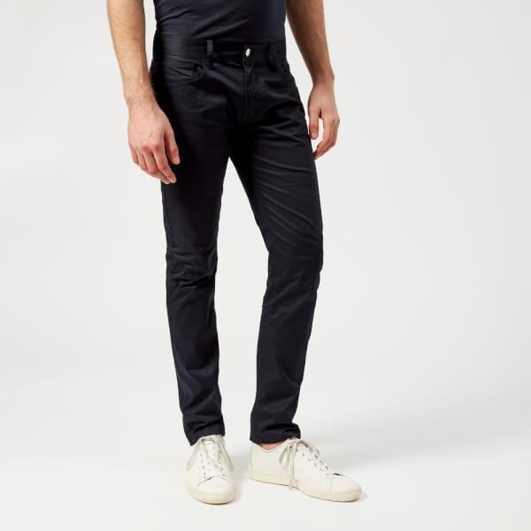 armani exchange men's 5 pocket trousers - navy - w38/l32 - navy