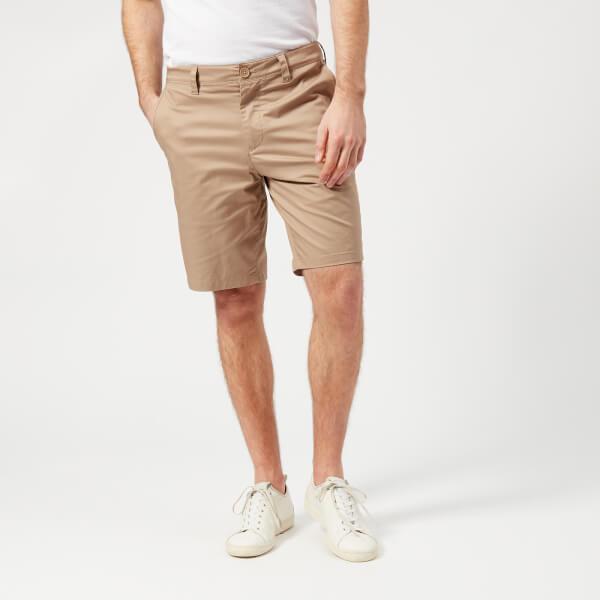 armani exchange men's chino shorts - khaki - w30 - green