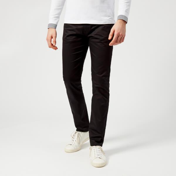 armani exchange men's 5 pocket trousers - black - w38/l34 - black