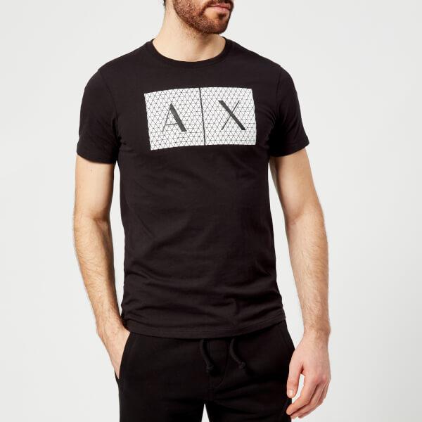 Armani Exchange Men s Ax Logo T-Shirt - Black Clothing  418b0da650