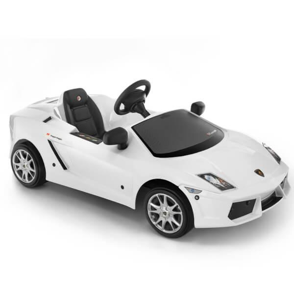 Lamborghini Gallardo Pedal Power Car - White