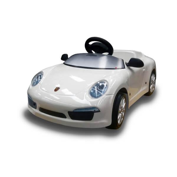 Porsche 911 12V Electric Car - White