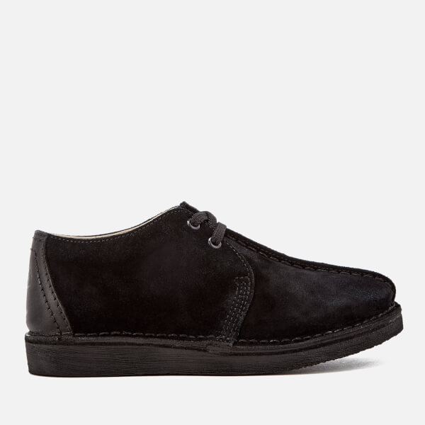Clarks Originals Kids' Desert Trek Shoes - Black Suede