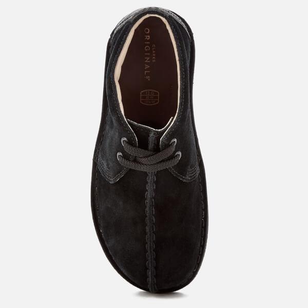 Originals Clarks Black Desert Shoes Suede Trek Kids' Junior p4BwPq4