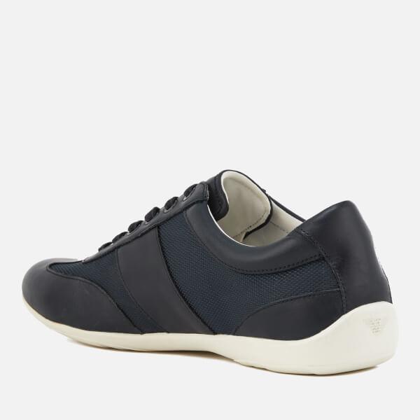 Armani Men's Leather Derby Action Shoes - - UK 11 i0etO