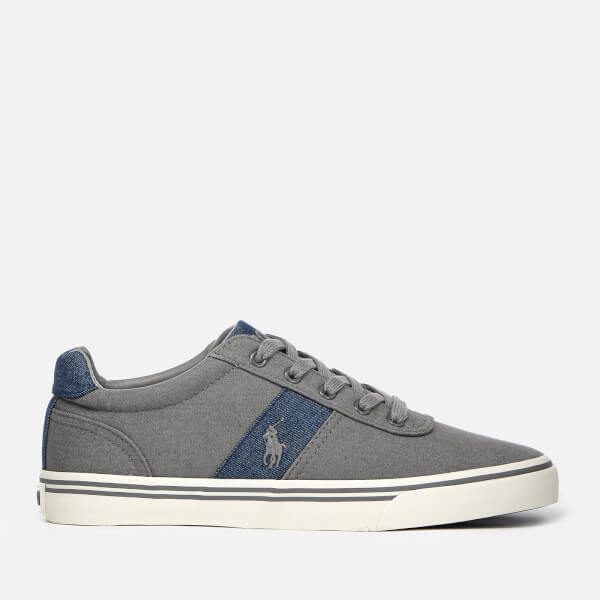 Polo Ralph Lauren Men's Hanford Denim Trainers - Grey