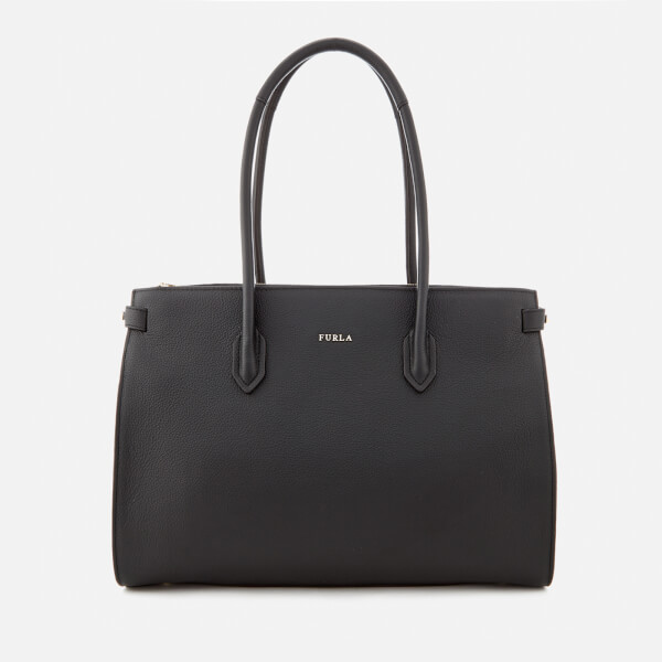 Furla Women's Medium Pin Tote Bag - Black