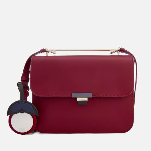 Furla Women's Elisir Small Cross Body Bag - Burgundy