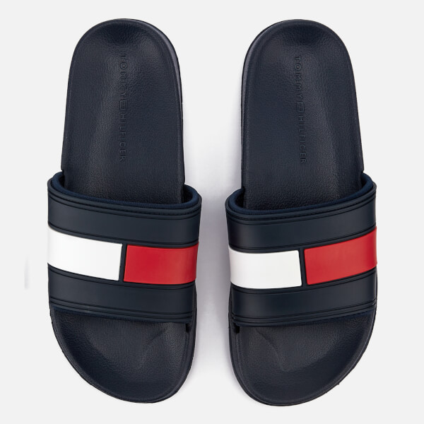 Tommy Hilfiger Men's Splash Slide Sandals - Blue