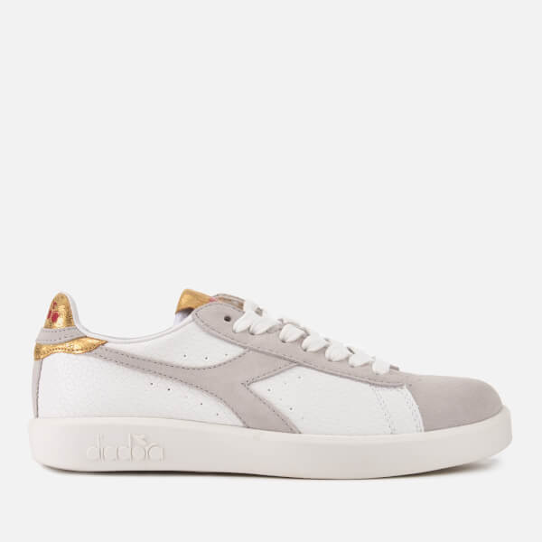 Diadora Women s Game Wide Trainers - White Womens Footwear  b394701d5c0e