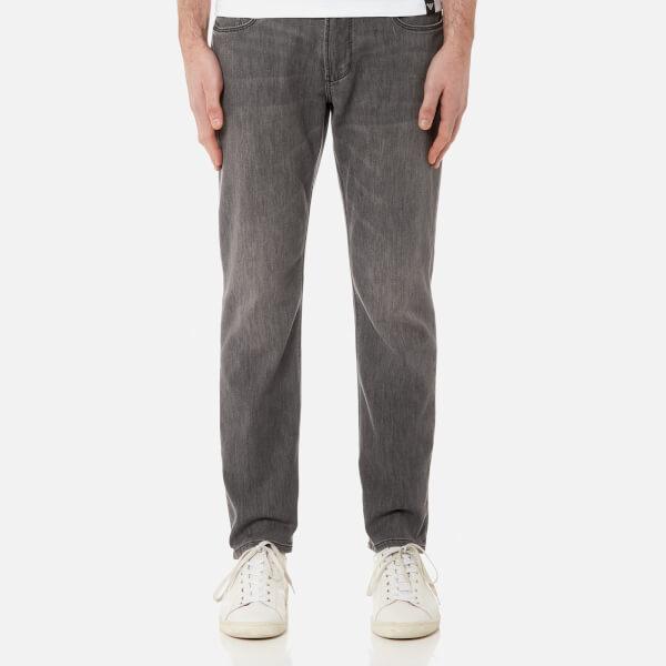 Emporio Armani Men's J06 5 Pocket Slim Jeans - Denim Nero Md