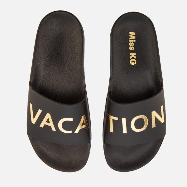 Miss KG Women's Rave Slide Sandals - Black