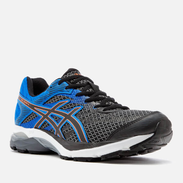 a9885d62ae79 Asics Men s Running Gel Flux 4 Trainers - Carbon Black Sports ...