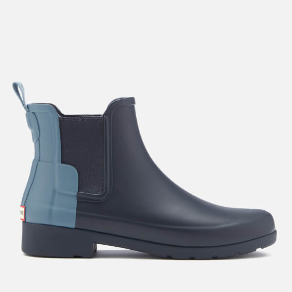 Hunter Women's Original Refined Chelsea Boots - Navy/Pale Air Force