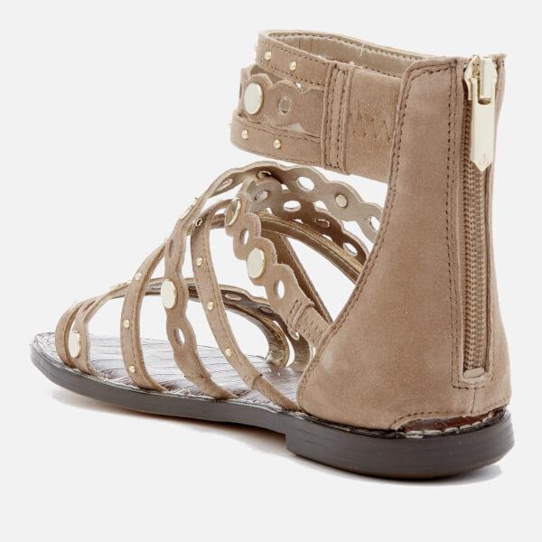 00934b653 Sam Edelman Women s Geren Suede Gladiator Sandals - Golden Caramel  Image 2