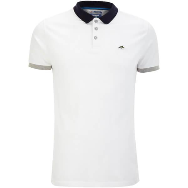 Le Shark Men's Langstone Polo Shirt - Optic White