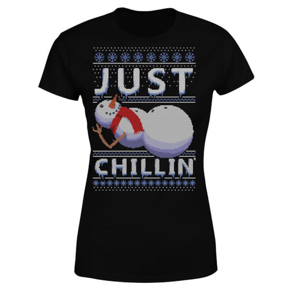 Just Chillin Women's T-Shirt - Black