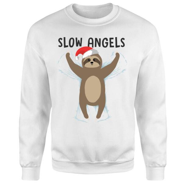 Slow Angels Sweatshirt - White