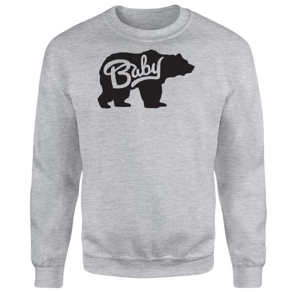 Baby Bear Sweatshirt - Grey