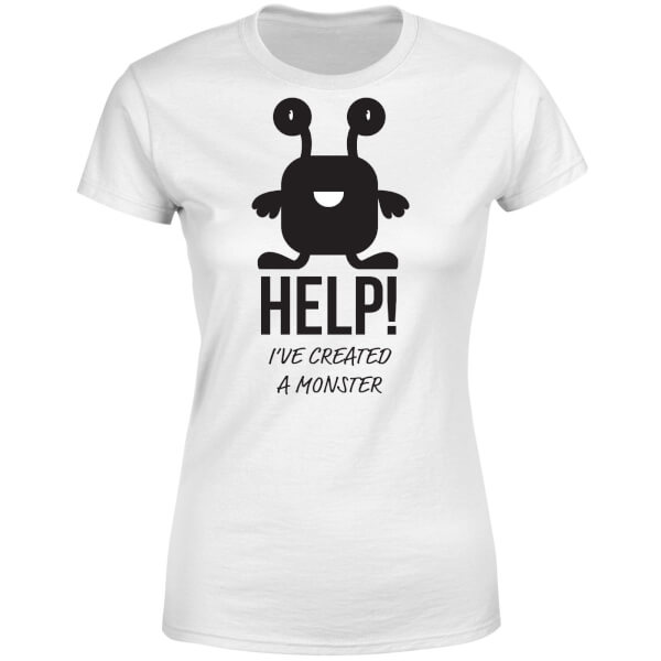 HELP Ive Created a Monster Women's T-Shirt - White