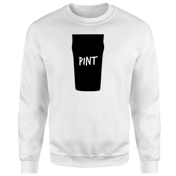 Full Pint Sweatshirt - White