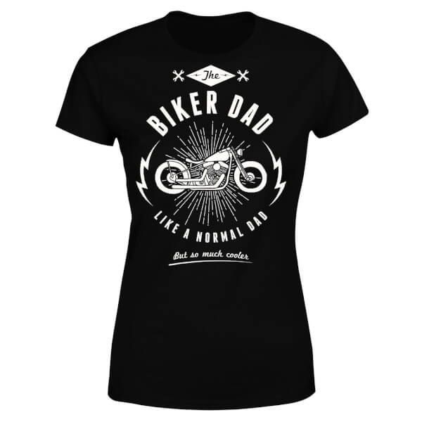 Biker Dad Women's T-Shirt - Black
