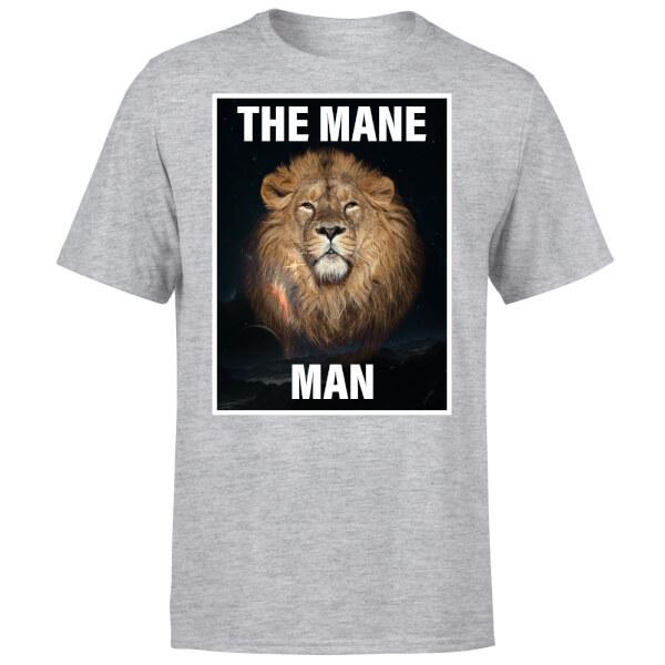 The Mane Man T-Shirt - Grey