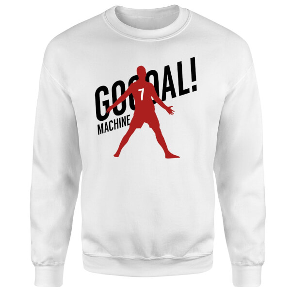 Goal Machine Sweatshirt - White