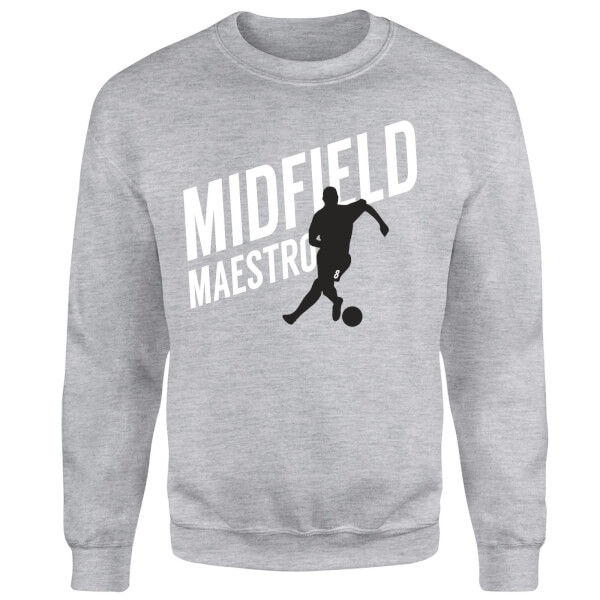 Midfield Maestro Sweatshirt - Grey