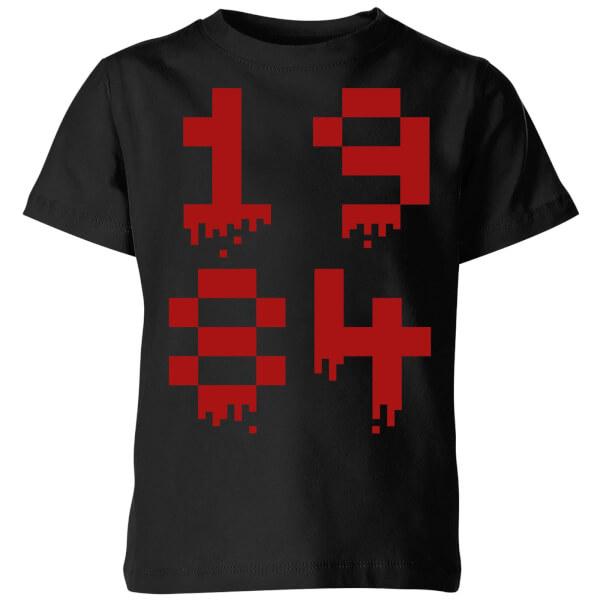 1984 Gaming Kids' T-Shirt - Black