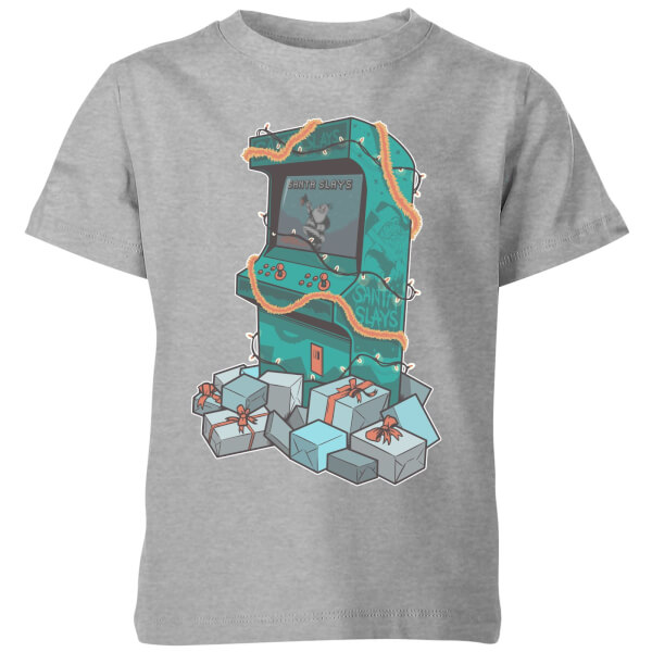 Arcade Tress Kids' T-Shirt - Grey