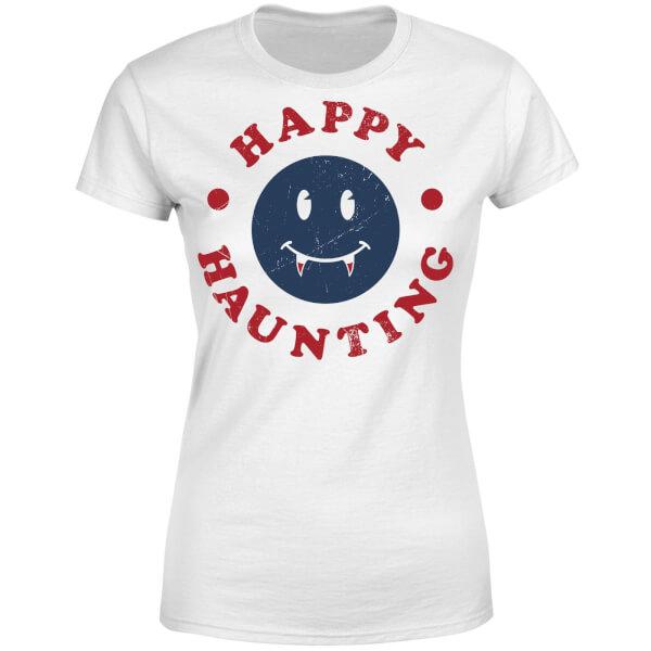 Happy Haunting Fang Women's T-Shirt - White