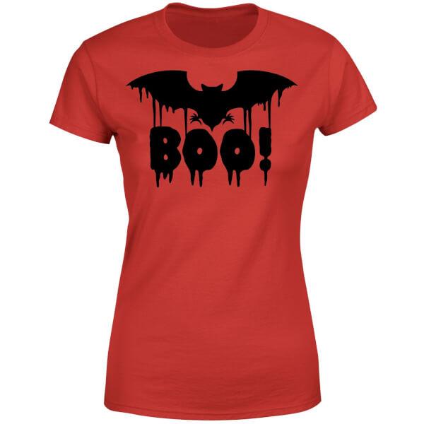 Boo Bat Women's T-Shirt - Red