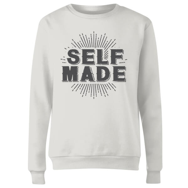 Self Made Women's Sweatshirt - White