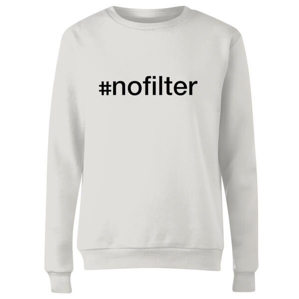 nofilter Women's Sweatshirt - White