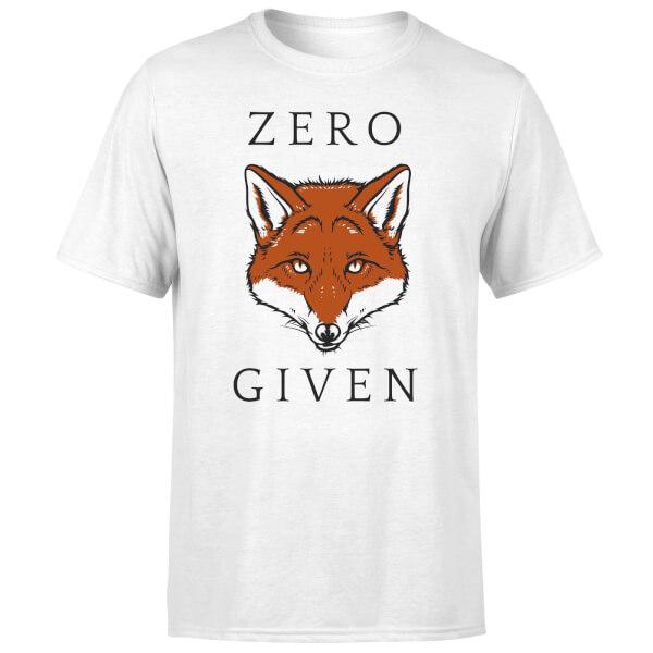Zero Fox Given T-Shirt - White