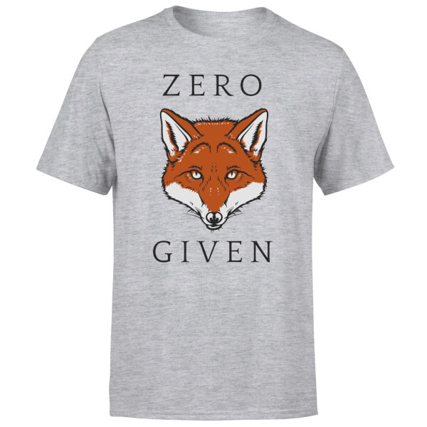 Zero Fox Given T-Shirt - Grey