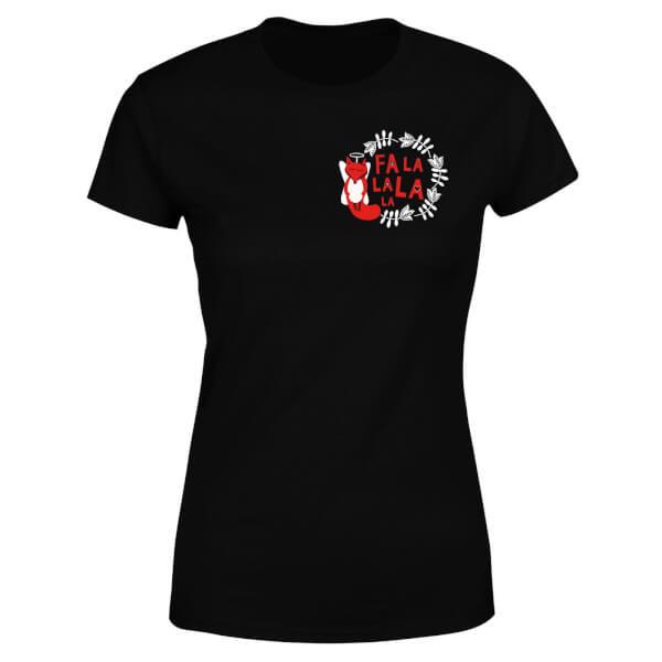 Fa La La La La Women's T-Shirt - Black