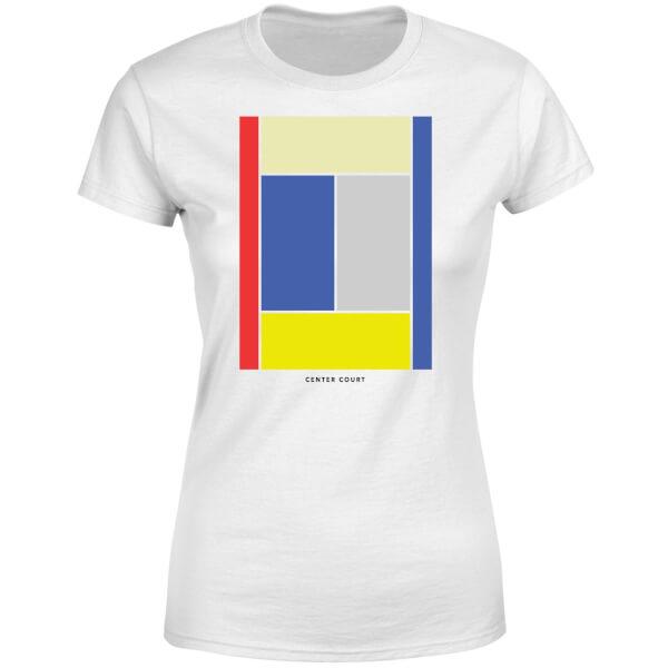 Center Court Women's T-Shirt - White