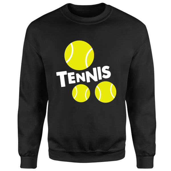 Tennis Balls Sweatshirt - Black