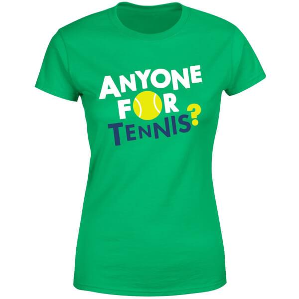 Anyone for Tennis Women's T-Shirt - Kelly Green
