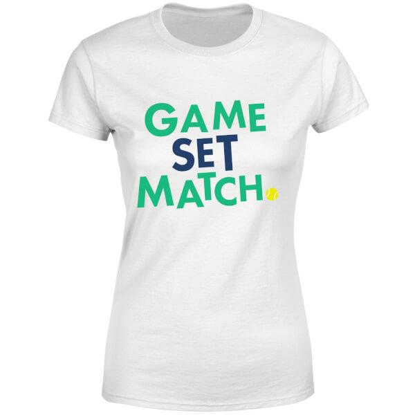 Game Set Match Women's T-Shirt - White