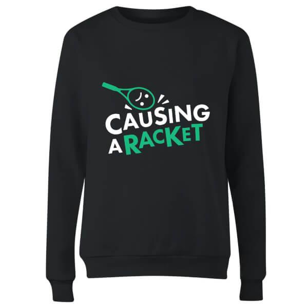 Causing a Racket Women's Sweatshirt - Black