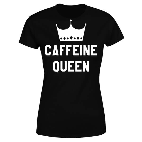 Caffeine Queen Women's T-Shirt - Black