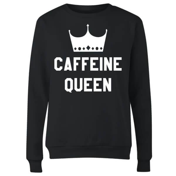 Caffeine Queen Women's Sweatshirt - Black