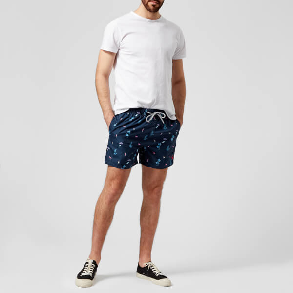 231c838c84 Ted Baker Men's Gusty All Over Print Swim Shorts - Navy: Image 3