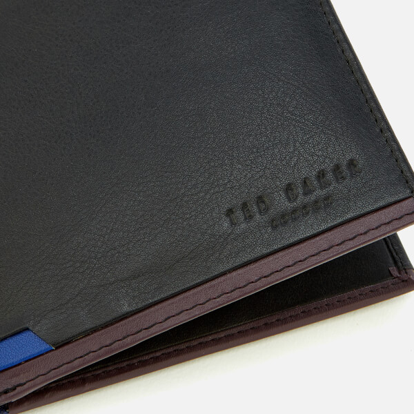 1e4bac969001ea Ted Baker Men s Baldi Corner Detail Bifold Wallet - Black Mens ...